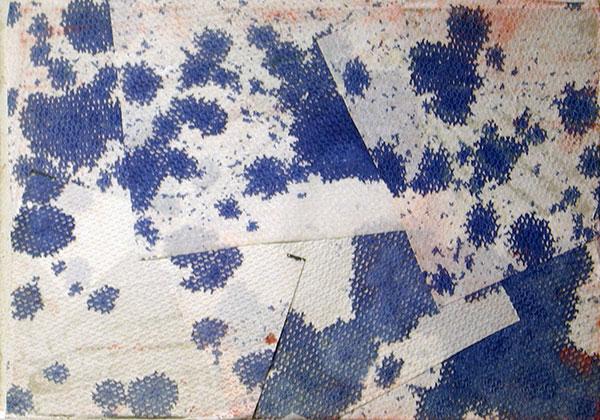senza titolo; 1995; 35x50 cm; inchiostro su cartone